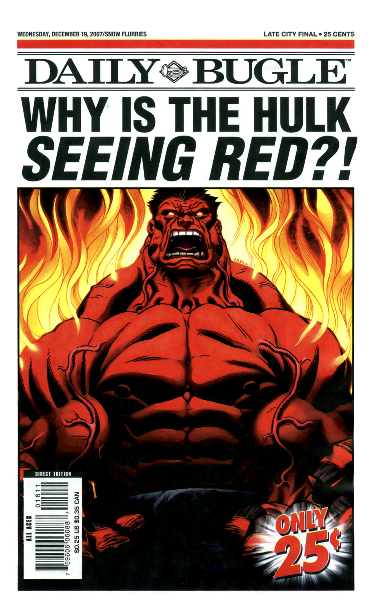 Read online Daily Bugle (2006) comic -  Issue #16 - 1