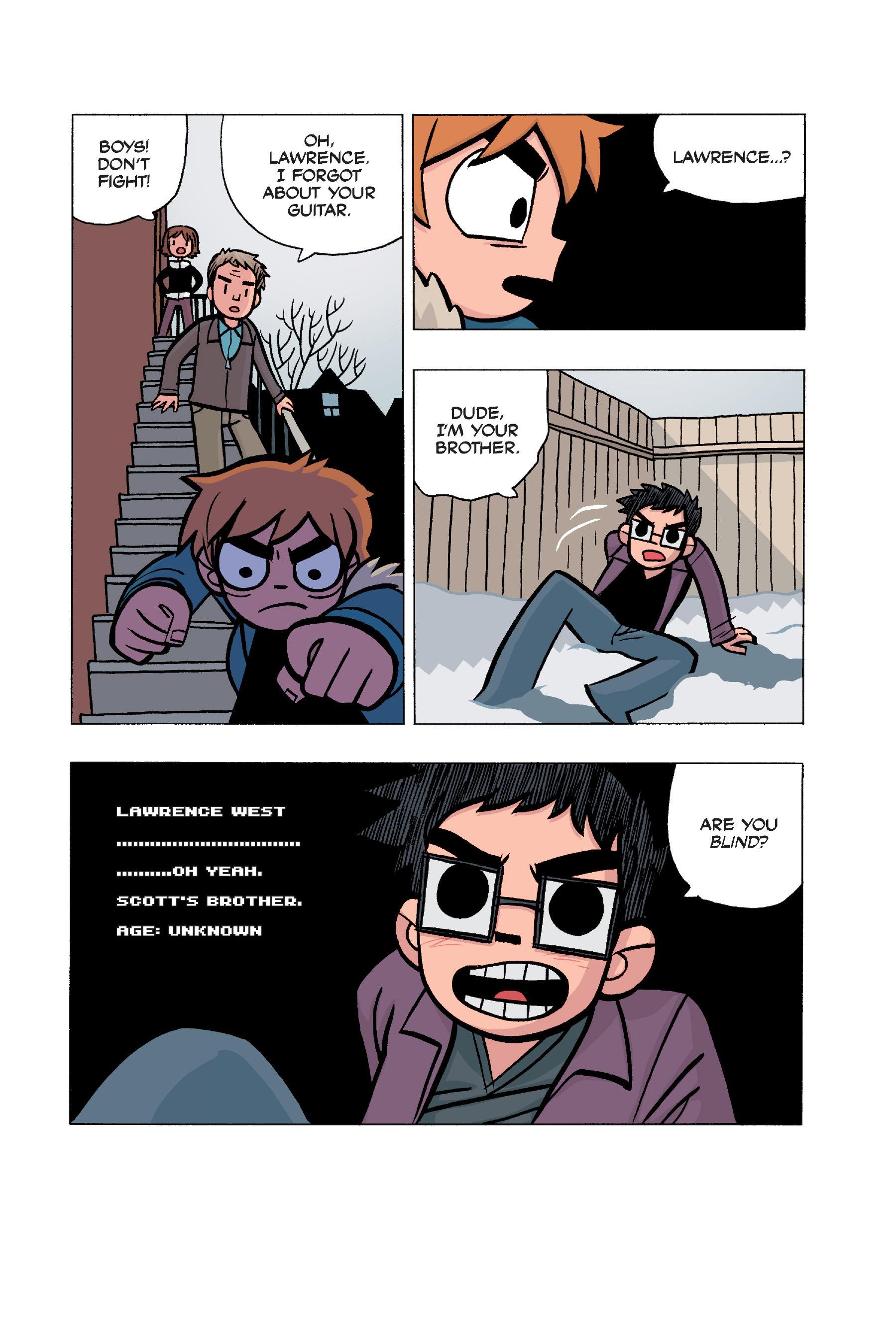 Read online Scott Pilgrim comic -  Issue #5 - 169