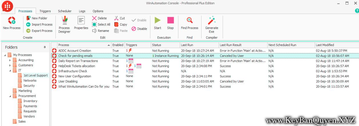 WinAutomation.8.0.3.5190 Full Key Download, Phần mềm giúp bạn làm nhiều công việc tự động trên máy tính.