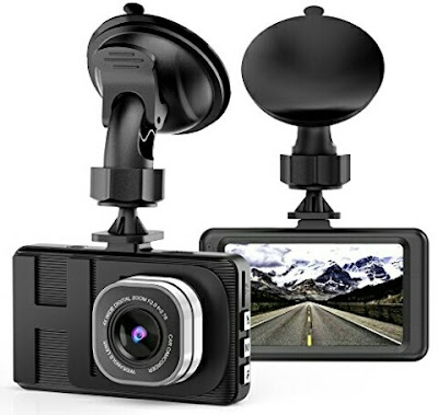 "ALZN Car Dash Camera - Full HD 3.0"" Wide Angle 1080P Motion Sensor Cam for Vehicles"