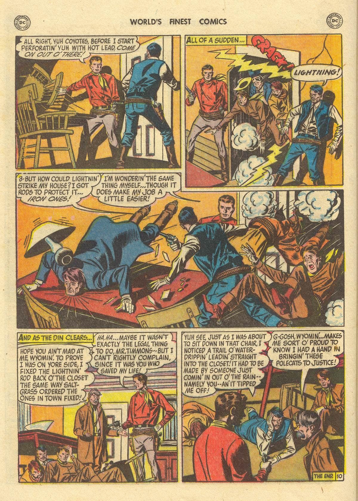 Read online World's Finest Comics comic -  Issue #51 - 52