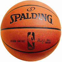 Spalding Official NBA Leather Game Basketball