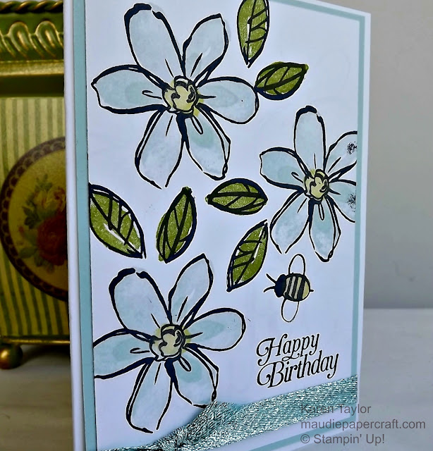 Stampin' Up! Garden In Bloom card