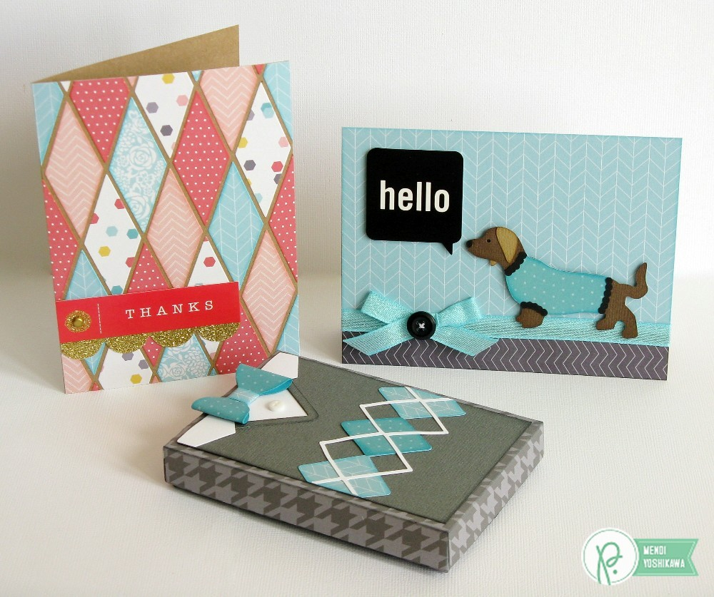 Pebbles Inc. Home+made Sweater Weather Card Set by Mendi Yoshikawa
