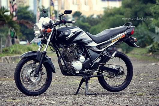 Gambar Modifikasi Motor Yamaha Scorpio Z Velg Jari Jari