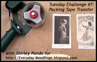 Tuesday Challenge #7 Tape Transfer