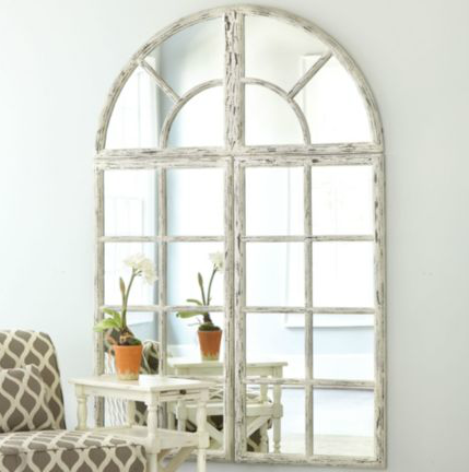 T H E V I S U A L V A M P Arched Window Mirrors
