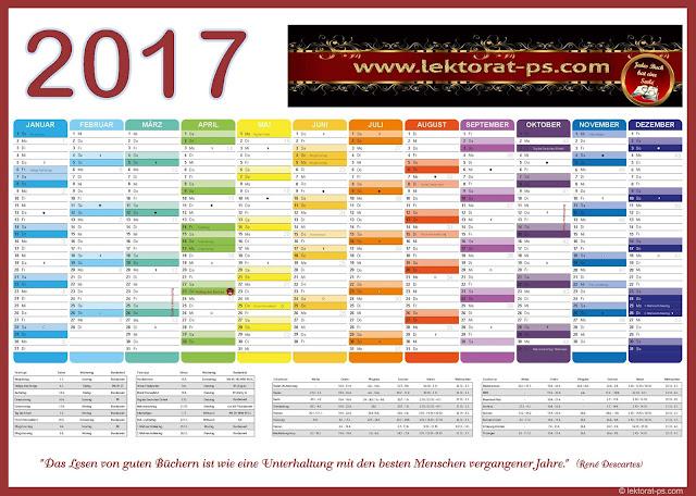 Kalenderblatt 2017