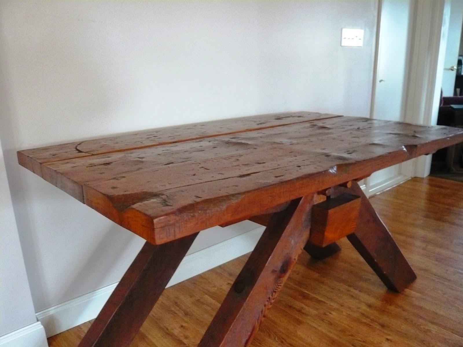 Barnwood Kitchen Table For Sale