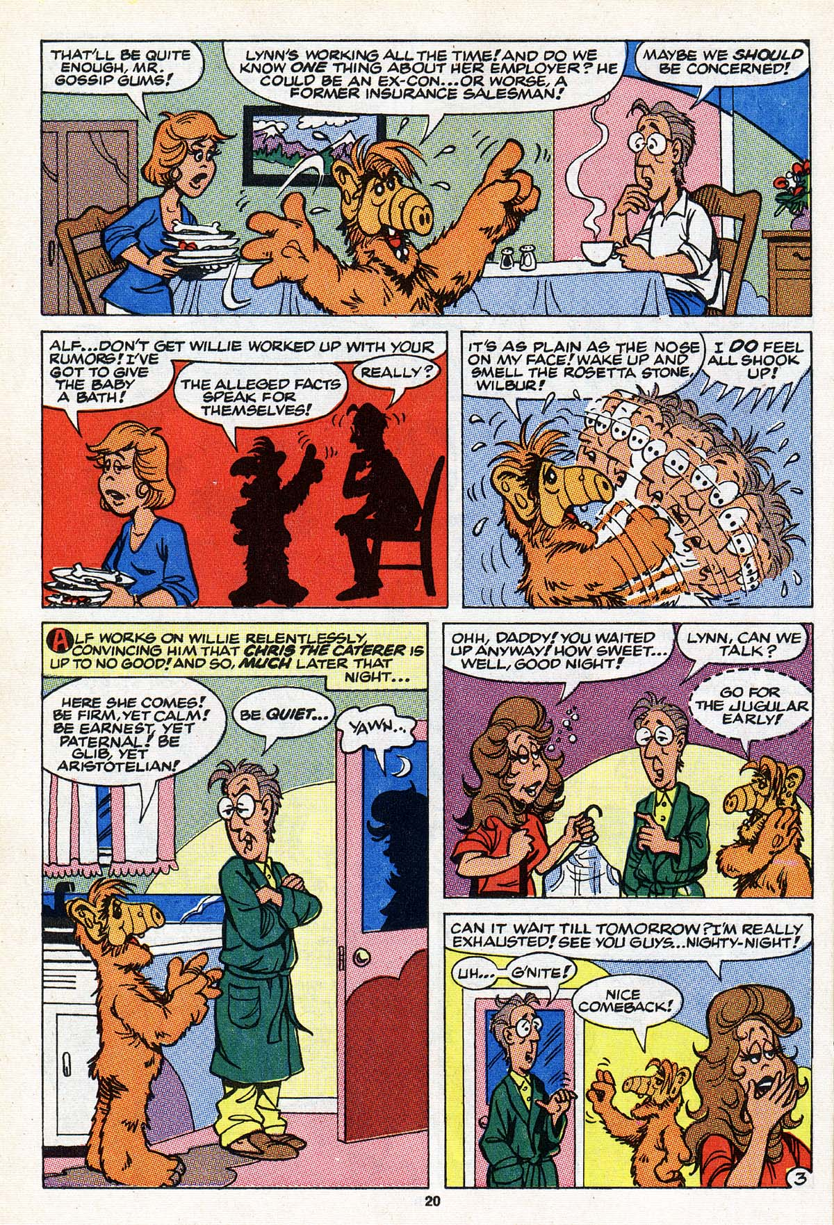 Read online ALF comic -  Issue #22 - 17