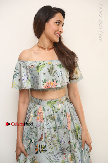 Actress Pragya Jaiswal Stills in Floral Dress at turodu Interview  0098.JPG
