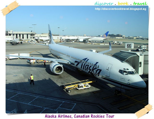 Airline Review Alaska Airlines Flight From Los Angeles To Vancouver Discover Book Travel