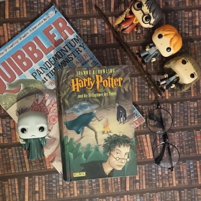 [Rezension] J.K. Rowling - Harry Potter und die Heiligtümer des Todes