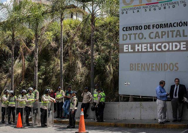 El Helicoide é o quartel geral da repressão  política chavista