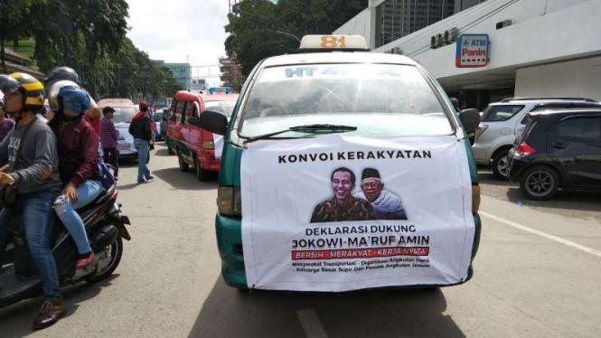 Israel Nyatakan Dukungan ke Jokowi-KH Ma'ruf Amin