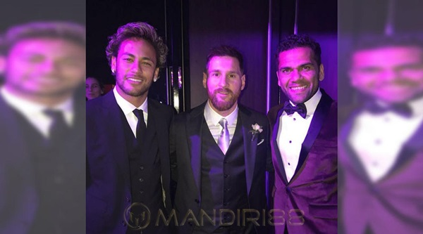 Neymar Doakan Pernikahan Lionel Messi Bahagia