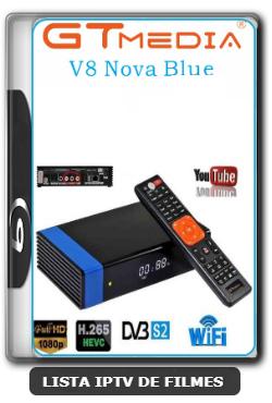 GTMedia V8 NOVA Blue Abrindo HD Com CS - 18-03-2020