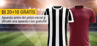 bwin promocion Juventus vs Roma 23 diciembre