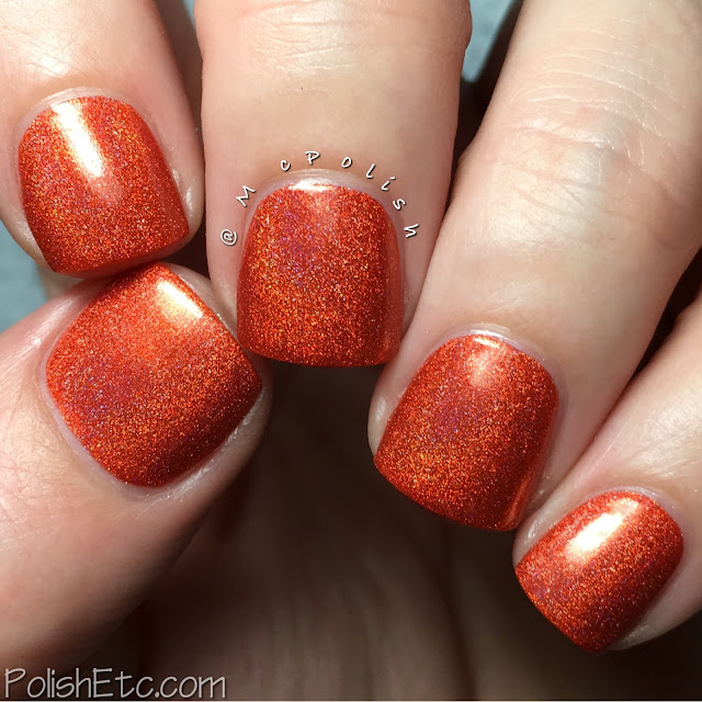 Nine Zero Lacquer - ROY G BIV Collection - McPolish - Frequency