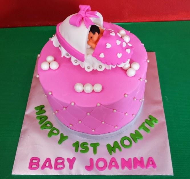 Happy 1st Month Baby Joanna