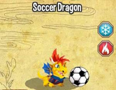 Guia de Dragon City - Soccer Dragon