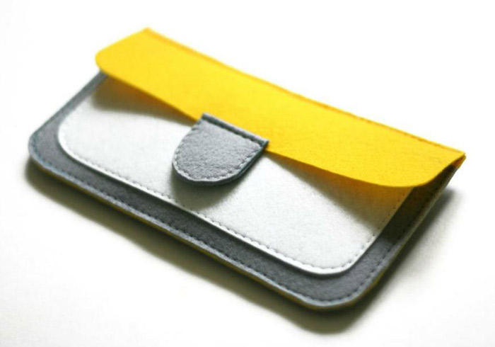 Felt Coin Purse Wallet Tutorial