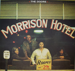 The Doors Morrison Hotel Album Cover