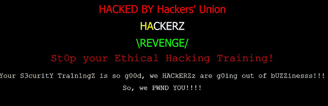 April Fool Hack : Innobuzz (Ethical Hacking Training Institute) hacked