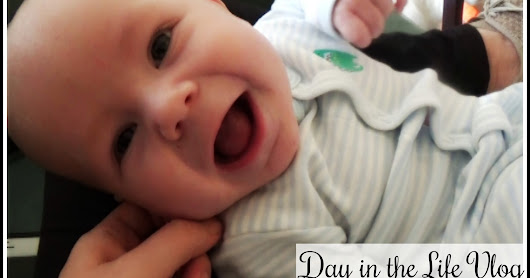 Day in the Life Vlog w/ an Adorable 3 Month Old!