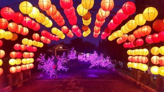 Melihat 'Pelangi' di Malam Hari, Datang Saja ke Taman Pelangi Yogyakarta