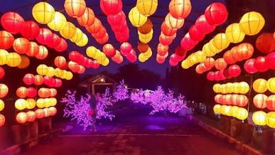 Hasil gambar untuk taman lampion yogyakarta