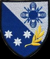 емблема 57-го окремого полку зв'язку і управління