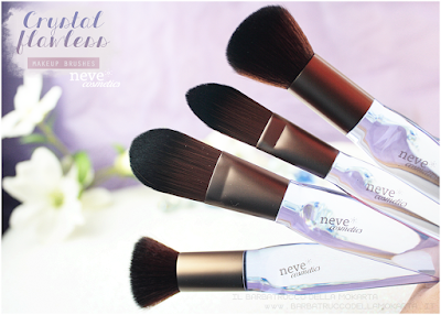 pennelli NeveCosmetics Crystal Flawless Brushes