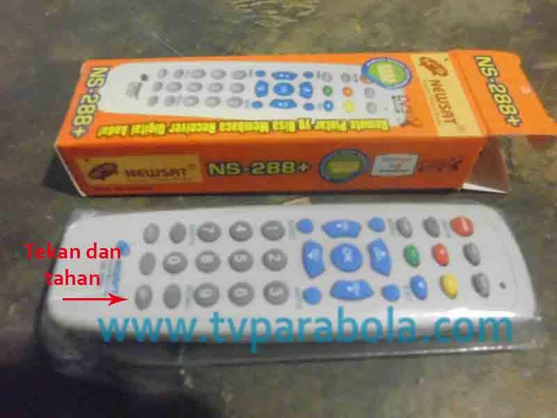 Cara Setting Remote Pintar Receiver TV Parabola - TV Parabola