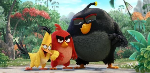 """Filme de """"Angry Birds"""" ganhará sequência"""