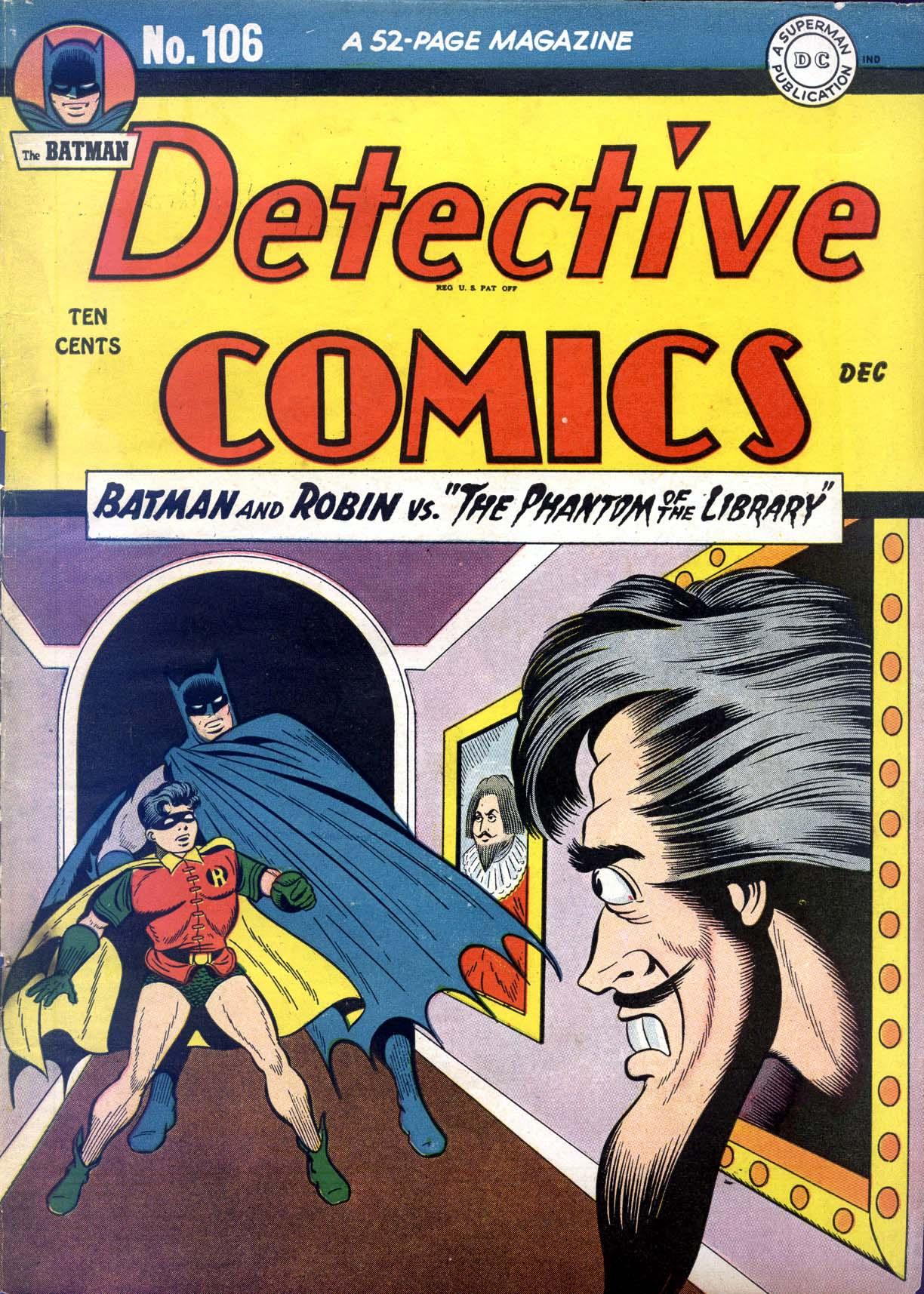 Detective Comics (1937) 106 Page 1