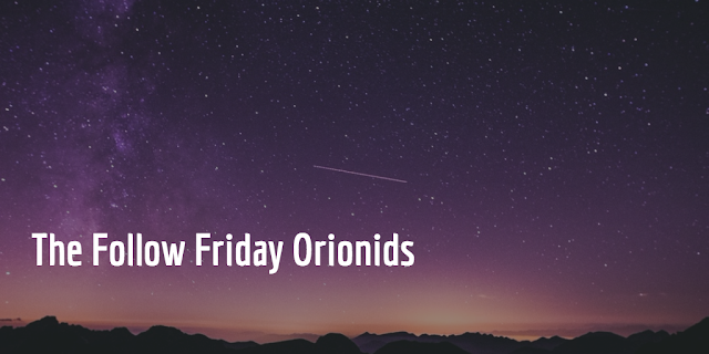 What the heck is a Orionid? A Orionid is a meteor that originates from Halley's Comet. They create quite a spectacle in the sky and they peaked this week. So did these #social shooting stars that followed and retweeted us.