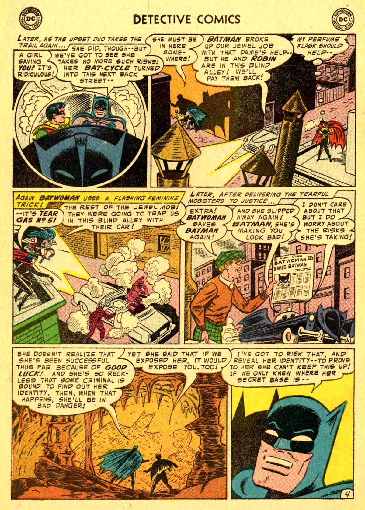 Read online Detective Comics (1937) comic -  Issue #233 - 6
