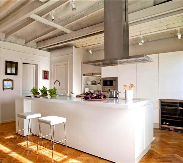 Gourmet Kitchen Cabinets: Cocinas Gourmet En Blanco White Gourmet Kitchens