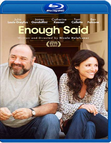 Poster Of Enough Said 2013 English 300MB BRRip 480p Free Download Watch Online