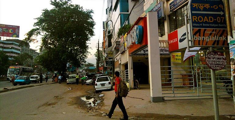 Bangladesh sixth sector of UTTARA