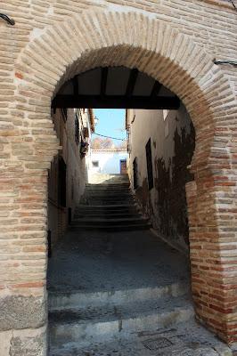 Barrio musulmán de Toledo. Arco de herradura