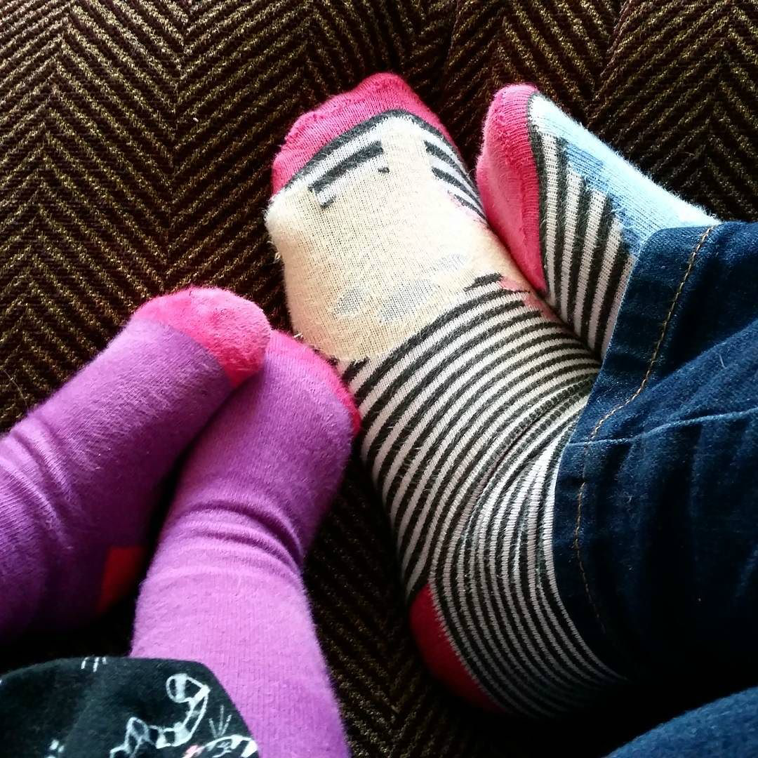 This Little Big Life: Mother and Toddler Feet