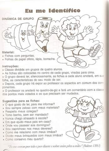 Plano de Aula Identidade Educação Infantil