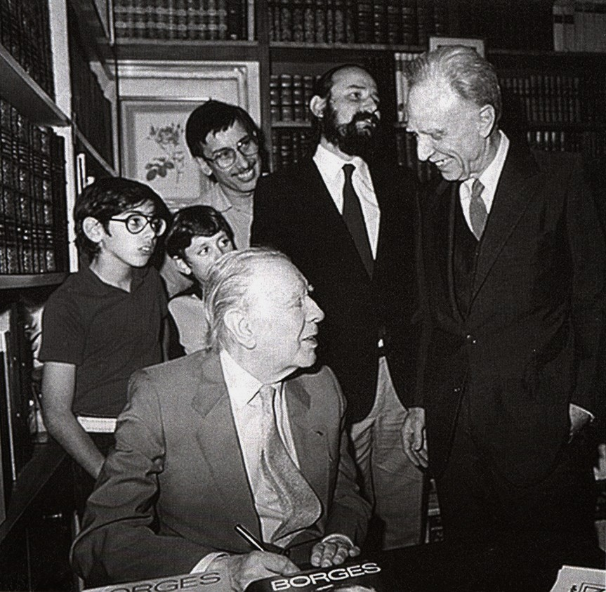 autobiographical essay borges new yorker The library of borges :  thirteen new stories by the celebrated writer, including two which he considers his greatest achievements to date,.