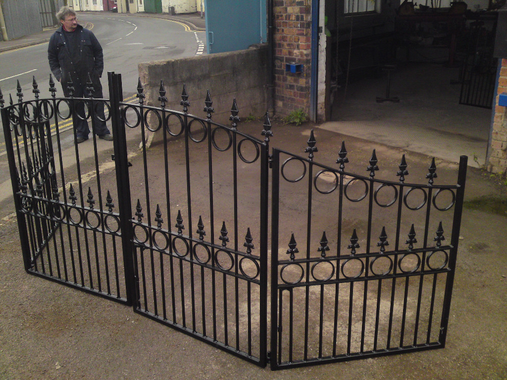 Wrought Iron Gates: David Dangerous: Wrought Iron Driveway Gates