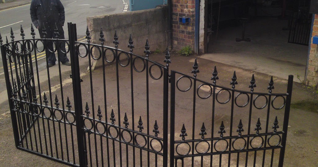 David Dangerous Wrought Iron Driveway Gates Bi Folding