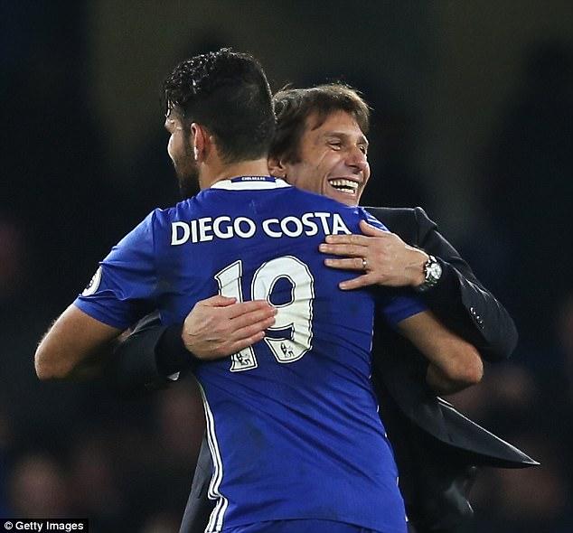 Diego Costa phá im lặng, chỉ trích Conte không ra gì