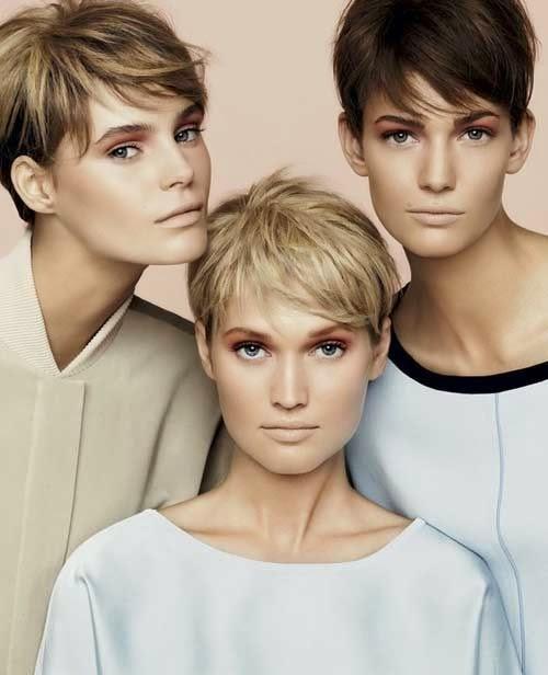 Superb Very Short Hairstyles For Girls 2014 Jeblog Short Hairstyles Gunalazisus