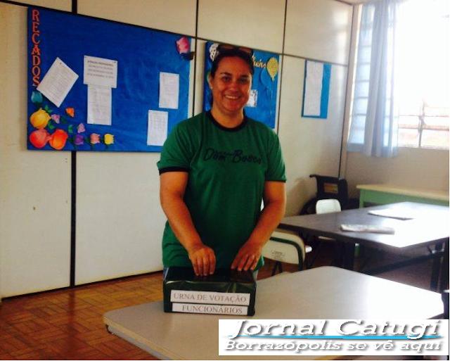 Professora Vivian Coccia é eleita Diretora da Escola Municipal Dom Bosco.